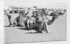Kuwait City Safat Beduin camel park. by Alan Villiers