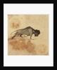 Sketch of a bison by Gabriel Bray