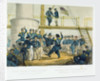 English sailors & French soldiers. A Dance on board HMS Vulture Augt 7' by Edwin Thomas Dolby