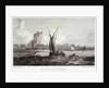 Mast House, Blackwall by William Bernard Cooke