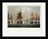 Sir Robert Calder's Action, 22 July 1805 by Thomas Whitcombe