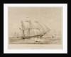 HMS 'Satellite' by Henry John Vernon
