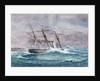 Escape of HMS 'Calliope', Samoa by W. Sutton