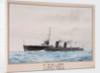 HMS 'Lark', 1913-1916, Harwich Force by W.J. Sutton