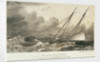 Schooner 'David Porte'r lying to in the Bay of Biscay, 30 January 1814 by A. Weingartner