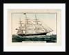 Lithograph entitled, 'Clipper Ship 'Queen of Clippers' 1853 by N Currier by N Currier
