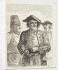 Life on board a Scotch ship. The cook, captain & mate by Paul Sandby