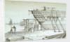 An Indiaman in Barnard's Yard Deptford by Chatfield & Coleman