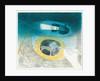 The Submarine Series: Submerged submarine by Eric Ravilious