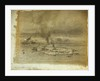 Study for a painting of wreck reef by William Westall