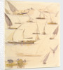 Studies of various Egyptian craft by Edward Lear