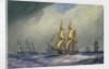 HMS 'Doris' by William Frederick Mitchell