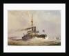 HMS 'Devastation' by William Frederick Mitchell