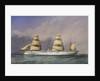 HMS 'Jumna' No. 493 by William Frederick Mitchell