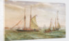 Yachts off Southsea 1895 by E.P. Bedwell