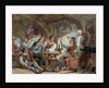 Shipmates carousing on shipboard by William Henry Pyne