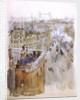 Roofs and Tower Bridge by William Lionel Wyllie