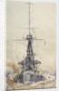 HMS 'Indefatigable' by William Lionel Wyllie
