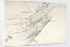 Study of a ship's bow with figurehead by William Lionel Wyllie