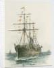 Orient Line passenger vessel Austral by William Lionel Wyllie
