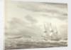 Cape Molo, Minorca and HMS 'Menelaus' by William Innes Pocock