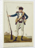A private Marine of Col. Fourgeoud's Corps, inscribed 'Dutch Expedition in Surinam 1772-1777' by Blake