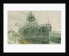 HMS 'Audacious' by William Lionel Wyllie