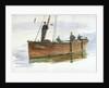 A Loch Fyne Herring Skiff by William Lionel Wyllie