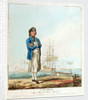 A seaman with a man-of-war's barge by D. Serres