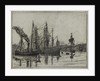 London Docks by William Booth-Pearsall