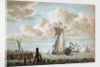 A view on the Maas by K. F. Bendorp the Elder
