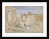The Ramosseum, Thebes, Egypt by Oswald Walter Brierly