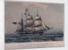 This print of the Raymond Hugh Mckay Commander. The first vessel direct from China to Hull is published commemorative of her arrival on the 14th October 1843 by J. Ward