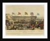 Launch of HMS Royal Albert screw steamer, 131 guns, at Woolwich, 13 May 1854 by Read & Co