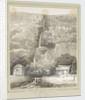 Artillery huts at Tristan da Cunha by C. W. Browne