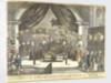 A View of the Laying in State of the Remains of our illustrious Hero Lord Nelson in the Painted Hall at Greenwich Hospital by G. Thompson