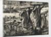 Billingsgate fish porters, 1920 by Frank William Brangwyn