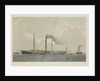 The first steamer from Marseilles to Genoa by Day & Son