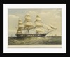 Clipper ship 'Clarence' by Thomas Goldsworth Dutton