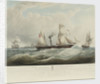 The Niger Expedition... off Holyhead... August-October 1841, HMS 'Albert', 'Sudan' and 'Wilberforce' by Samuel Walters