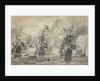 The Battle of Scheveningen, 31 July 1653: the last pass in the battle by Willem van de Velde the Elder