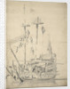 The 'Constant Warwick' by Willem van de Velde the Elder