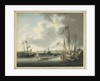 The Duke of Clarence landing at Stade, Prussia, at the mouth of the Elbe, 1785 by Robert Cleveley