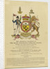 Arms of Horation Nelson by J. Adlard