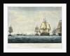 The Battle of Copenhagen by Nicholas Pocock