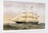 Clipper ship 'Goolwa' (1864) by Thomas Goldsworth Dutton