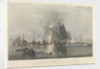 The iron steam ship 'Nemesis' (1840), Lieutenant W. H. Hall, Royal Naval Commander, with boats of 'Sulphur', 'Calliope', 'Larne' and 'Starling', destroying the Chinese War Junks in Anson's Bay, 7 January 1841. by Edward Duncan