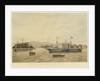 The steamship 'Triton' (Br, 1845) by J.L Tudgay