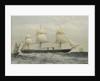 Iron cased screw steam frigate HMS 'Warrior' by Thomas Goldsworth Dutton