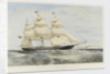 Clipper ship 'Swiftsure' by Thomas Goldsworth Dutton